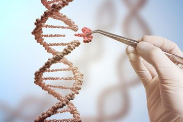 Illustration of genetic engineering