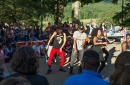 Melanated dancing at ALANApalooza
