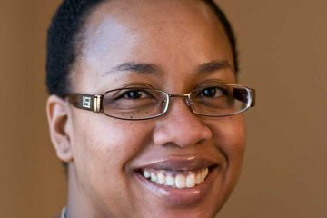 Portrait of Courtney Young, Colgate's new University Librarian