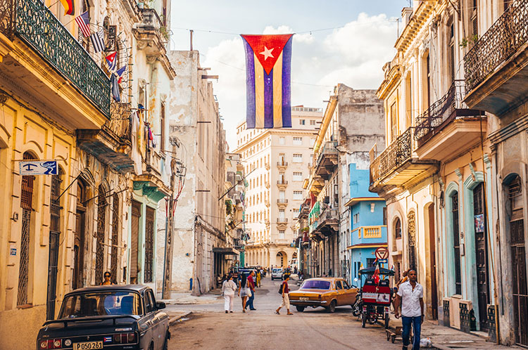 A street in Havana, Cuba