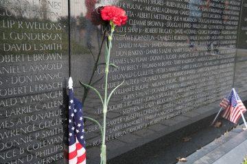 Memorial Wall in Washington, DC