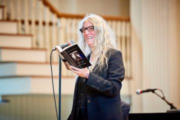 Patti Smith performs in the Colgate Memorial Chapel during Living Writers 2018 and Bicentennial Kickoff Weekend