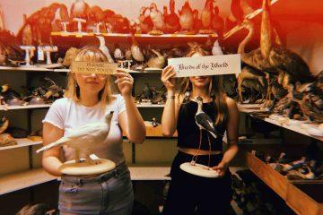Julia Marchetti '18 and Erin Burke '18