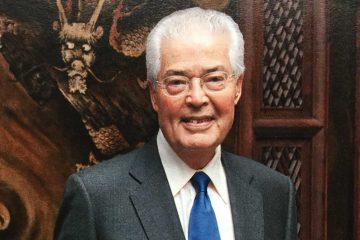 Portrait of Robert Hung-Ngai Ho '56, H'11