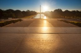 Washington DC Mall with I have a Dream