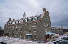 Colgate's new residence halls near completion