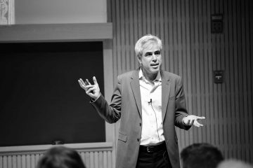 """Jonathan Haidt, Thomas Cooley Professor of ethical leadership, NYU-Stern School of Business, discusses """"How three bad ideas are harming students, universities, and democracy."""""""